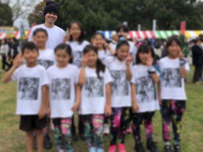 春日部ダンススクールのキッズクラスと庄和校メンバー