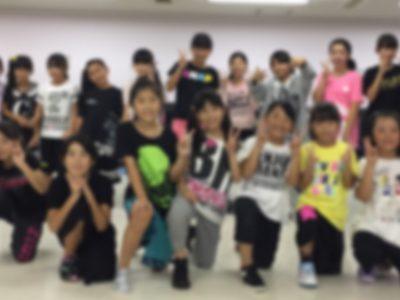 春日部ダンススクール 水曜ジュニアヒップホップクラス